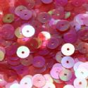 Sequins, red, Diameter 8mm, 260 pieces, 5g, Disc shape, Sequins are shiny, [CZP332]